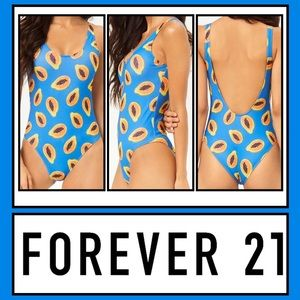 NWT Forever 21 One-Piece Swimsuit Medium